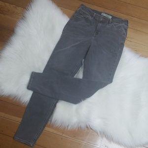 Topshop Moto Jamie jeans gray